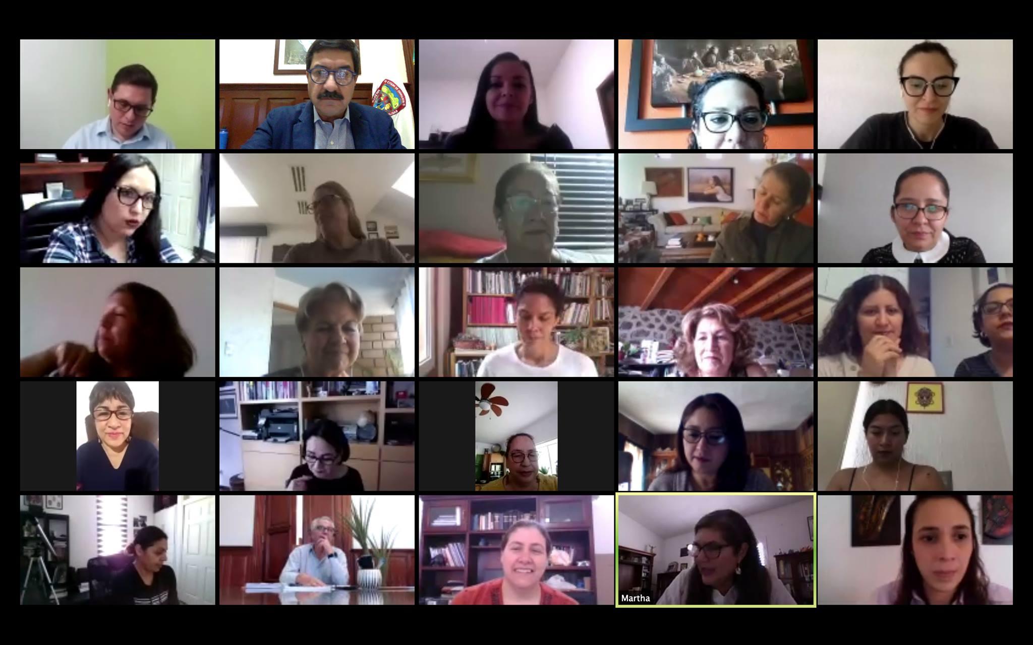 Reunion Virtual con el Gobernador de Chihuahua